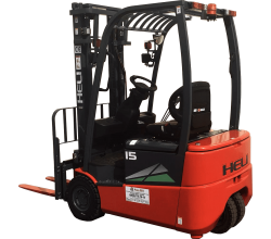 Электропогрузчик 1,6 тонны Heli CPD16SQ-GB2 (P) (3-х опорный)